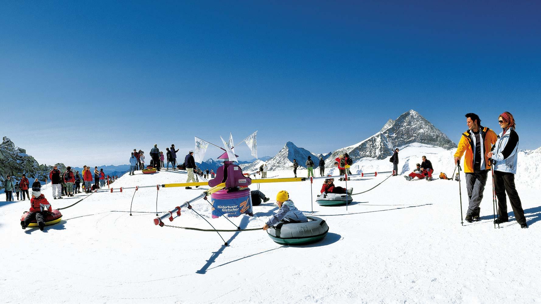 Slidinėjimas Austrijoje 8 d. (Zilertalio slėnis)