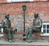 Tartu (O.Waildo ir E.Waildo skulptūra)