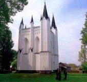 Svėdasų apylinkės (grafų Marikonių koplyčia mauzoliejus)