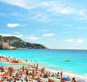 Paplūdimys Nicoje