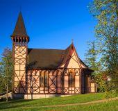 Bažnyčia Stary Smokovec miestelyje
