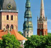 Rygos bažnyčių bokštai