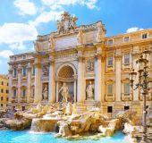 Trevi fontanas Romoje