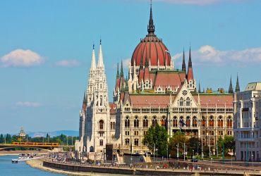 Parlamento rūmai Budapešte