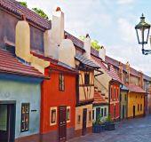 Auksinė gatvelė Prahos pilyje