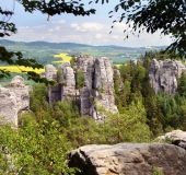 Uolos Čekų Rojuje