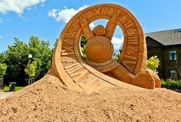 Jelgava, smėlio skulptūrų festivalis