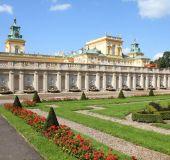 Varšuva, Vilanovo rūmai