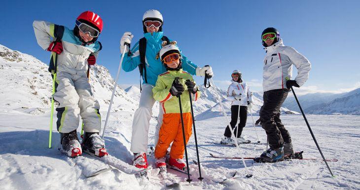 Slidinėjimas Austrijos ir Italijos Alpėse, Slovakijos Tatruose, Ukrainos Karpatuose
