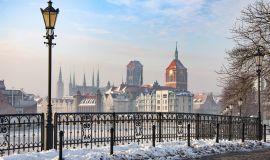 Gdanskas žiemą