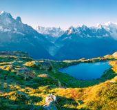 Ežeras prie Monblano