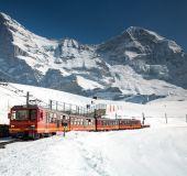 Traukinukas į Jungfrau