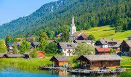 Kaimelis Alpėse
