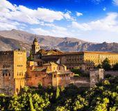 Alhambros rūmai Granadoje