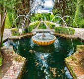 Generalife sodai (Granada)