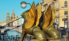 Grifonų skulptūros