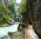 Arės upės kanjonas