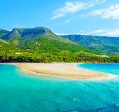 Paplūdimys Bračo saloje