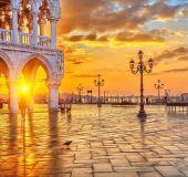 Saulėlydis Venecijoje