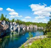 Marmuro kalnų parkas Ruskeala