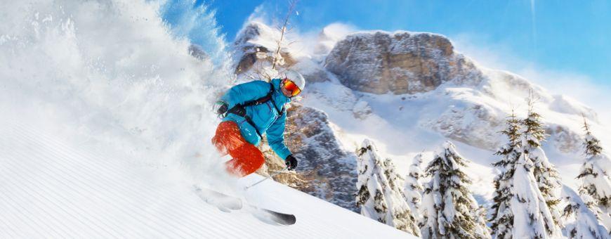 Slidinėjimas Alpėse