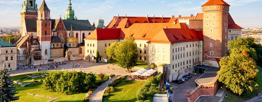 Vavelio pilies kompleksas Krokuvoje