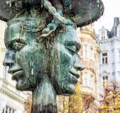 Fontanas Karlovy Varuose
