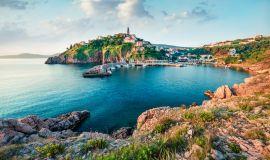 Krk salos pakrantė