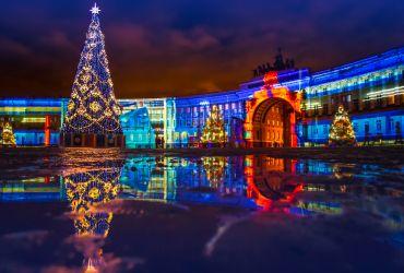 Naujametinis Sankt Peterburgas