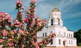 Įgulos bažnyčios varpinė Breste