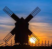 Anglos vėjo malūnas