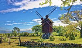 Anglos vėjo malūnų kaimelis