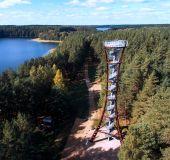 Mindūnų apžvalgos bokštas (nuotr. iš Molėtų TVIC archyvų)