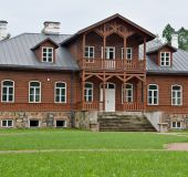 Vilkiškių dvaras (nuotrauka iš Šalčininkų raj. savivaldybės archyvo)