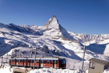 zermatt railway train