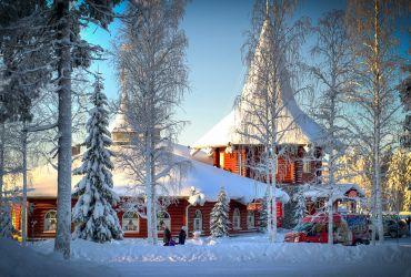 Kalėdinis kaimelis Rovaniemyje