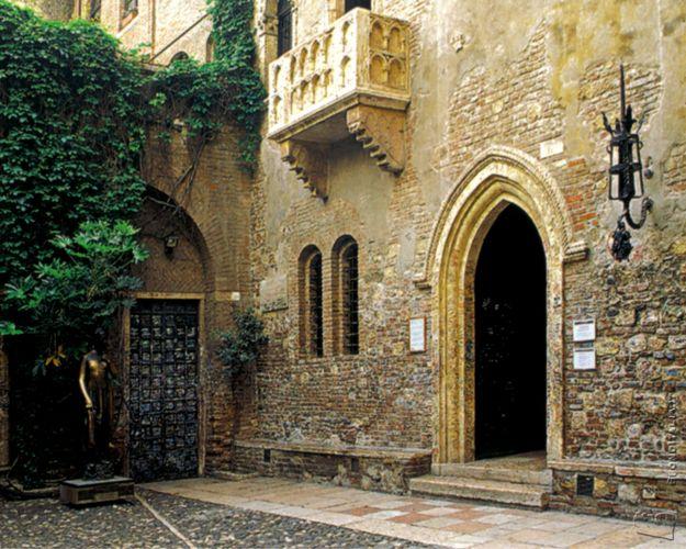 Verona (Džiuljetos namas)