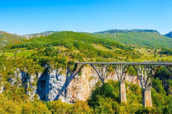 Durdevicos tiltas virš Taros upės