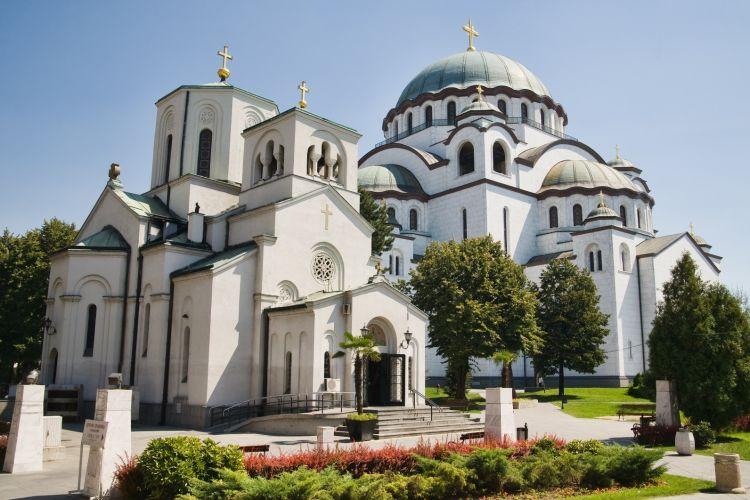 Stačiatikių katedra Belgrade