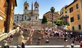 Roma, Ispanijos laiptai